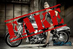 thumbnail image for blog post: Real or Fake? Women Motorcyclists