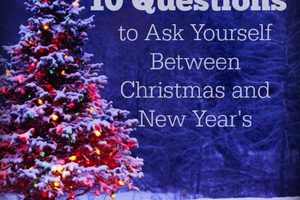 thumbnail image for blog post: 10 Questions to Ask Between Christmas and New Year's