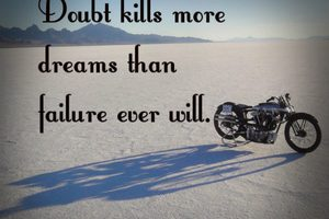 thumbnail image for blog post: Doubt Kills More Dreams